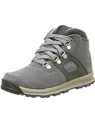 Timberland Unisex-Kinder Gt Scramble_Gt Scramble_Gt Scramble Leather Mid Kurzschaft Stiefel