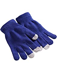Demarkt unisex Damen Herren strick warm winter Herbst mit Touchfunktion Handy Gloves Handschuhe für Touchscreen Touch Handy Smartphone