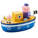 TM TOYS 05060 Peppa Pig Grandpa Pig's Bath Time Boot, 4 cm