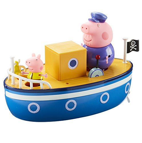 Peppa Pig 05060 Grandpa Pig's Bath Time Boat, Multi-Colour