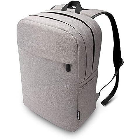 """Pofoko®Mochila para Portátiles Ordenador Tablet PC hasta 15,6 pulgadas, ( Impermebale, A prueba de Arrugas, Acolchada de 360º ) para Apple Macbook pro 17"""",15.4"""",13.3"""", Ipad Sony lenovo Dell ASUS Acer Toshiba Samsung HP: Notebook Ultrabook Netbook Laptop u otros Portátiles & accesorios hasta 15.6"""