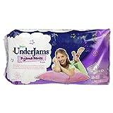 Pampers, Pannolini UnderJams per bambine, 8-12 anni, L/XL (27+ kg), 4 confezioni da 9 pz.