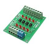 ILS - 12 V bis 3,3 V 4-Kanal-Optokoppler Isolation Vorstand Getrennt Modul PLC Signalpegel Spannungswandler