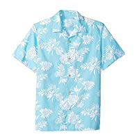 Joyfeel buy Beach Holiday Shirt Mens Hawaiian Shirt Short Sleeve Tops Tropical Plant Printing Tropical T Shirt Lightweight
