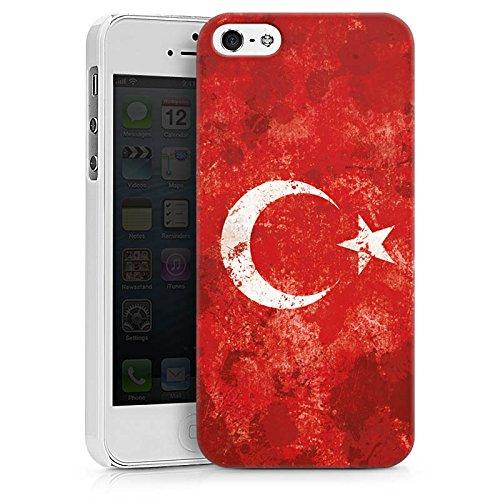 Apple iPhone 6 Hülle Case Handyhülle Türkiye Türkei Flagge Hard Case weiß