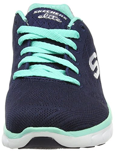 Skechers (SKEES) Synergy-moonlight Madness, baskets sportives femme bleu (NVAQ)