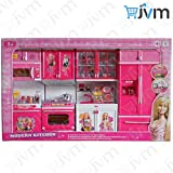 Best Barbie Kitchen Playsets - JVM Dream House Kids Luxury Battery Operated Kitchen Review
