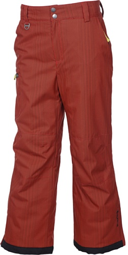 Sunice Junior Boy 's Jaden Ski Hose, Jungen, Fire Mini Check