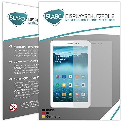 Slabo 2 x Bildschirmschutzfolie Huawei Honor T1 / Huawei MediaPad T1 8.0 Bildschirmschutz Schutzfolie Folie No Reflexion|Keine Reflektion MATT - Entspiegelnd Made IN Germany