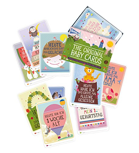 Milestone Baby Cards Erinnerungskarte - 4