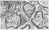 Giovanni Battista Nolli – Rome Sectional Map Fine Art Print (30.48 x 45.72 cm)