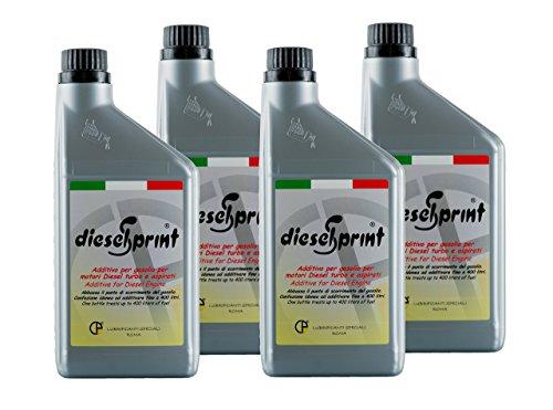 4-LITERS-4-Flaschen-von-1000-ml-DIESELSPRINT-multifunktionale-Additiv-fr-Diesel-motoren