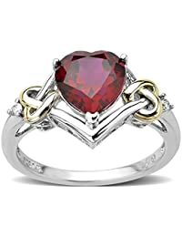 AG New Collection .925 Sterling Silver and Diamond Ring