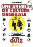 Une année de culture générale aux toilettes spécial quiz...
