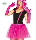Guirca Fiestas GUI18488 - Pinker kurzer Neon Tutu Frauen-Rock