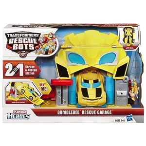 Transformers Bumbletree Rescue Garage Rescue Bots