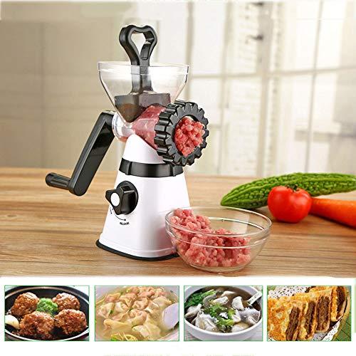 Manueller Fleischwolf, Multifunktionskochmaschine, Klinge aus rostfreiem Stahl für alle Arten von Fleisch und Gemüse