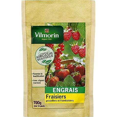 Vilmorin 6467550 fertilizzante fragole e piccoli frutti Bio Doypack 700 g