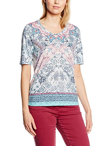 Bonita Damen T-Shirt Mehrfarbig (stratosphere blue 6985)