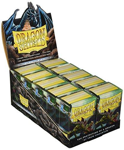 Dragon Shield 100 Sleeves + Box Matte Green - Magic: The Gathering Standard Mat