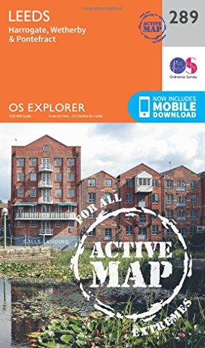 Leeds 1 : 25 000 (OS Explorer Active Map, Band 289)