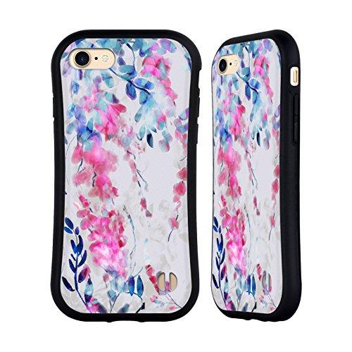 Ufficiale Giulio Rossi Rosa Collezione Floreale Case Ibrida per Apple iPhone 6 / 6s Foglie