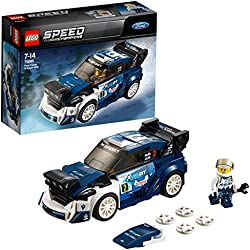 Lego Speed Champions Ford Fiesta M-Sport WRC, Multicolore, 75885