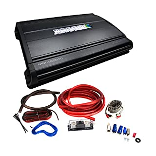 Autotek MM4020.1D 4000 W Max Monoblock 1-Ohm Stable Class D Car Audio Amplifier