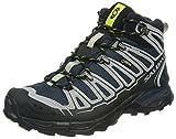 Salomon X Ultra Mid Gtx - Zapatos para hombre, Bl/Alu/Gecko Gree, 41
