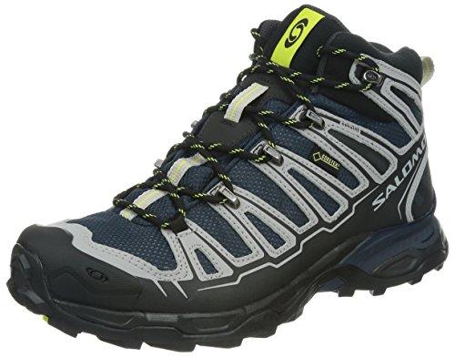 Salomon X Ultra Mid Gtx - Zapatos para hombre, color negro, talla...