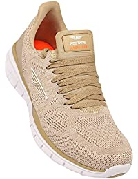 Athleisure Men's Beige Synthetic Shoes (203226173) - 10 UK