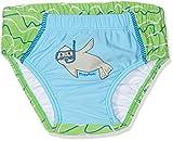 Playshoes Baby-Jungen UV-Schutz Windelhose Robbe Schwimmwindel, Blau (Blau/Grün 791),...