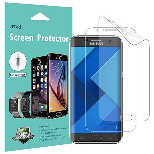JETech Protector de Pantalla para Samsung Galaxy S7 Edge, Cubierta Completa,...