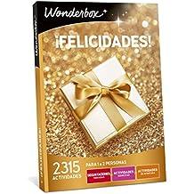 WONDERBOX Caja Regalo -¡FELICIDADES!- 2.315 Actividades para una o dos Personas