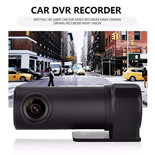 SDRFSWE WiFi Full HD 170 Grad 1080 P Auto DVR Video Recorder Dash Kamera Fahren Recorder Nachtsichtschleife Aufnahme Parkplatz Monitor