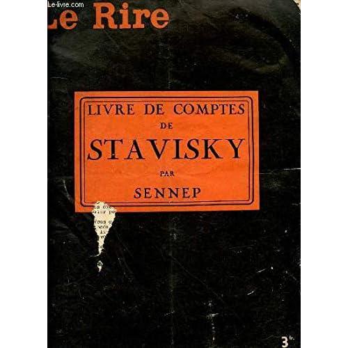 LE RIRE N°792 - LIVRE DE COMPTES DE STAVISKY.