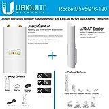 Ubiquiti RocketM5 Outdoor BaseStation 50 km AM-5G16-120 5GHz Sector 16dBi 120