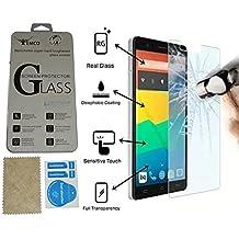 Evess Protector Pantalla Cristal Templado BQ Aquaris E5 4G Maxima Proteccion Premium