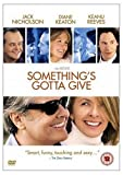 WARNER HOME VIDEO Somethings Gotta Give [DVD]