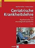 Geriatrische Krankheitslehre. Teil I: Psychiatrische und neurologische Syndrome - Manfred Hafner, Andreas Meier