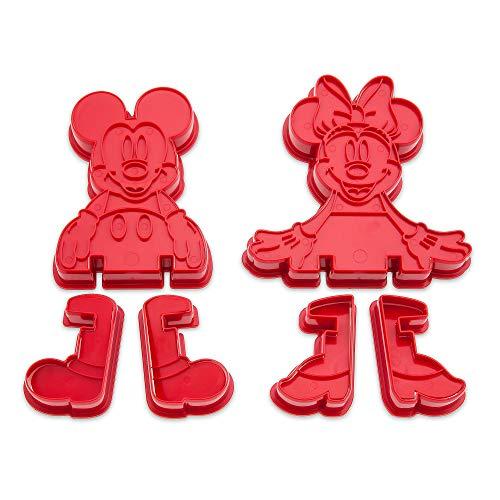 nnie Mouse 3D Ausstechformen-Set Eats ()
