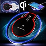 corst® Qi - Cargador inalámbrico Qi Wireless Charger Charging Pad Dock Station para Samsung Galaxy S7 S6, S6 Edge, ordenador 5, Nexus 7 2 nd Gen, Nexus 4/5/6, LG G2/G3 etc