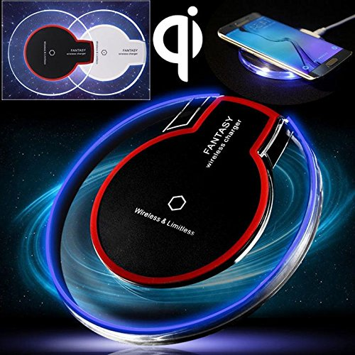 CORST® Drahtlose Qi Ladegerät Induktive Ladestation Qi Wireless Charger Charging Pad Dock Station für Samsung Galaxy S7 S6, S6 Edge, Note 5, Nexus 7 2nd Gen, Nexus 4/5/6, LG G2/G3 usw