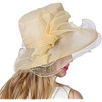 Yiwuhu El Sombrero Europeo de la Gasa de la raíz y el Sombrero de la Playa de la protección del Sol del Verano Femenino. Simple