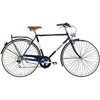 Adriatica Bicicleta Clasica Hombre Retro Vintage - Condorino 28 Azul