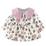 TEBAISE Baby Mädchen Kleidung Weihnachten Kleid Weihnachtskleid Weihnachtskostüm Weihnachten Baby Outfit
