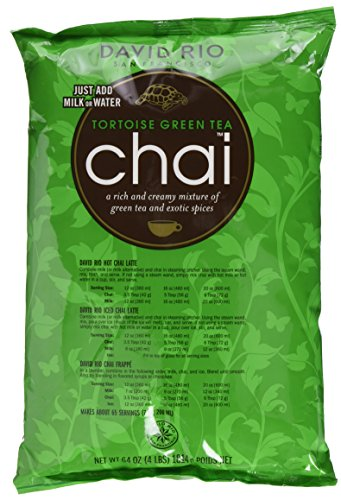 David Rio – Tortoise Green Chai, Nachfüllbeutel (1 x 1.814 kg)