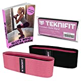 Teknifit Booty Builder | Elastico Fitness per Glutei Banda di Resistenza per Esercizi di Tonificazione e Brucia Grassi | Fascia Elastica Antiscivolo per Donna | per Gambe e Glutei Perfetti
