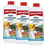 3x Mellerud Algen und Grünbelag Entferner 2L