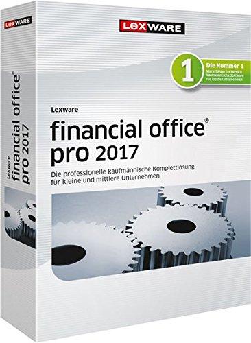 Lexware financial office 2017 pro-Version Minibox (Jahreslizenz), Einfache kaufmännische Komplett-Lösung für Freiberufler, Selbständige & Kleinunternehmen, Kompatibel mit Windows 7 oder aktueller